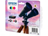 Komplet oryginalnych tuszy Epson 502 multipack